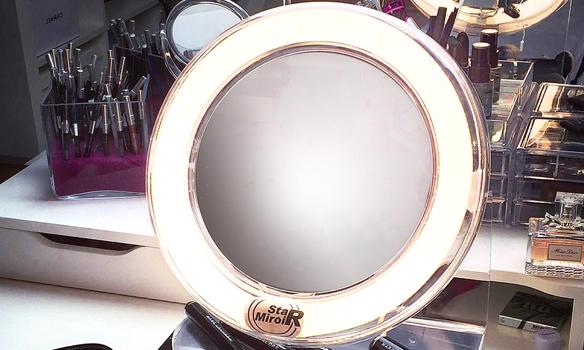 Miroir grossissant lumineux x 5 StarMiroir